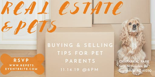 Real Estate and Pets - Moving and Buying Tips for Pet Parents