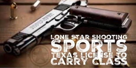 Texas License to Carry LTC CHL Class tickets