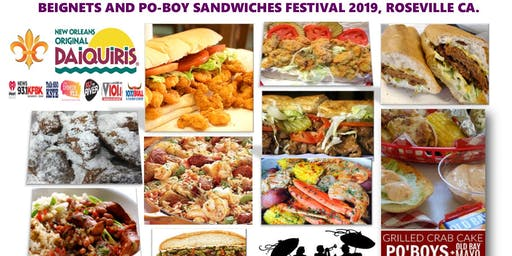 BEIGNETS and PO-BOY SANDWICHES FESTIVAL 2019
