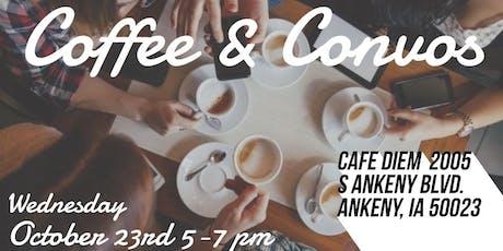 Coffee & Convos tickets