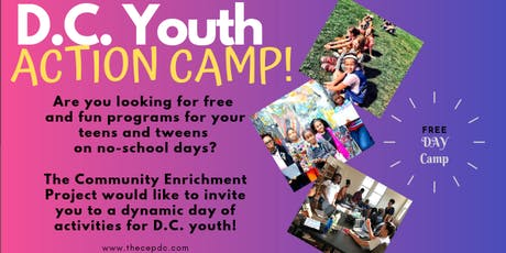 D.C. Youth Action Camp tickets