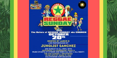 Reggae Sunday tickets