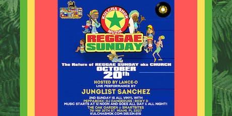 Reggae Sunday tickets