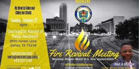 Fire Revival Meeting tickets