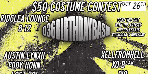036's Birthday Bash