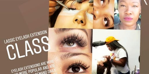 Lash box by mona lisa:   become a certified lash technician $1600 ,$300 deposit balance due day of training