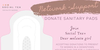 Network + DONATE SANITARY PADS