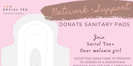 Network + DONATE SANITARY PADS tickets