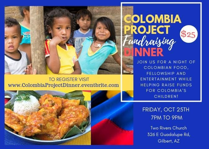 The Colombia Project Fundraising Dinner Event