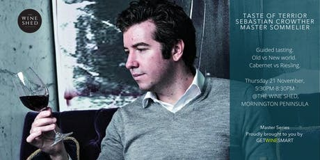 Taste terroir in a glass with Sebastian Crowther MS tickets