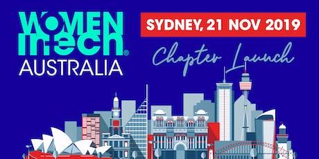 Women in Tech Australia Launch tickets
