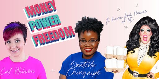 MONEY POWER FREEDOM Podcast Launch + Listening Party