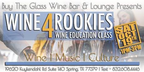 Wine & Cheese Pairing Class tickets
