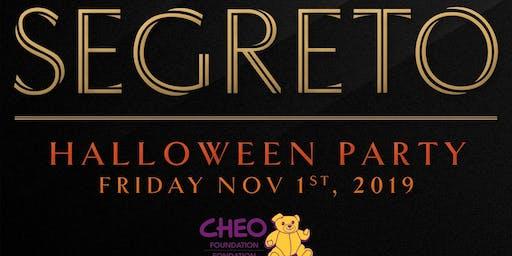 Segreto - Halloween Party Fundraiser for CHEO