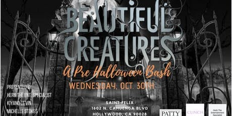BEAUTIFUL CREATURES: A PRE HALLOWEEN BASH tickets