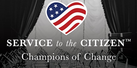 2020 Service to the Citizen Awards: Champions of Change Program tickets