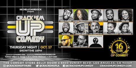 Crack 'Em Up Thursday 16th Anniversary Show! tickets