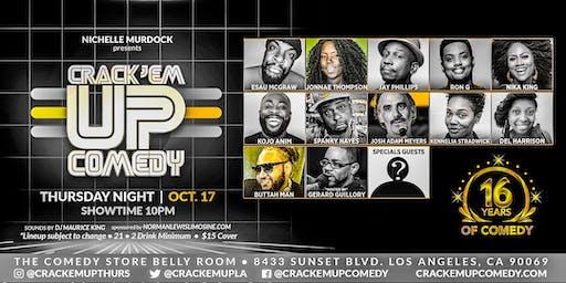 Crack 'Em Up Thursday 16th Anniversary Show!