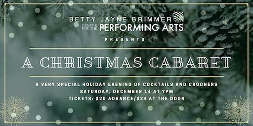 A Christmas Cabaret at The Betty Jayne