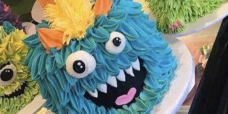 Cake Night - Monster Cake Decorating Class
