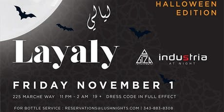 Layaly-Halloween Edition tickets