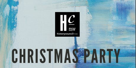 History Council of NSW Christmas Party 2019 tickets