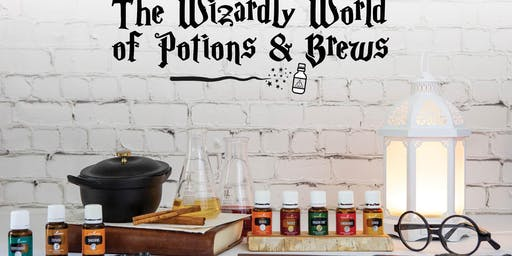 Wizardly World of {Oily} Potions & Brews