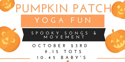 Pumpkin Patch Baby Yoga