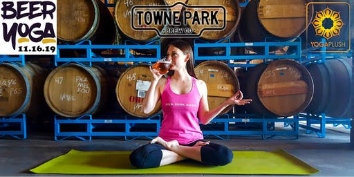 Beer & Yoga @ TownPark Brewery in Anaheim