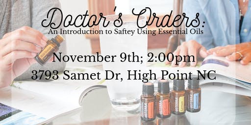 Doctor's orders: an intro to safely using essential oils