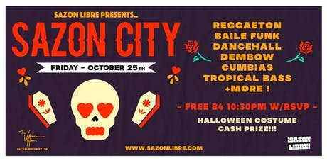 SAZON CITY - 10/25 tickets