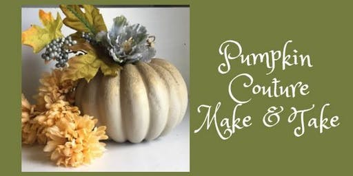 Pumpkin Couture Make & Take