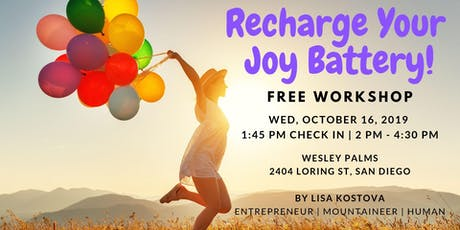Recharge Your Joy Battery! tickets