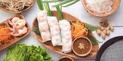 Regional Inspiration: Vietnamese Shrimp Summer Rolls & Nuoc Cham Dipping Sauce