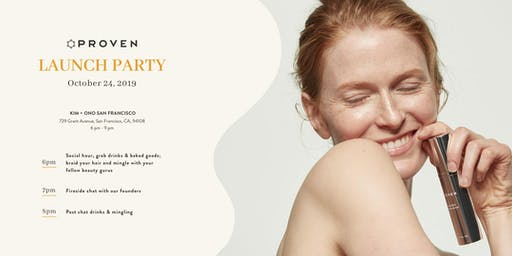 Proven Skincare Launch Party
