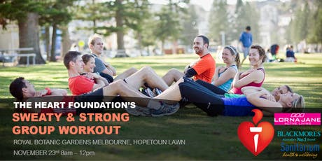 The Heart Foundation's Sweaty & Strong Group Workout tickets