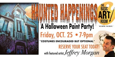 ***** Halloween Paint Party