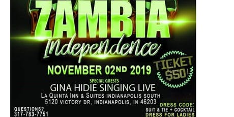 ZAMBIA's 55th INDEPENDENCE CELEBRATIONS tickets