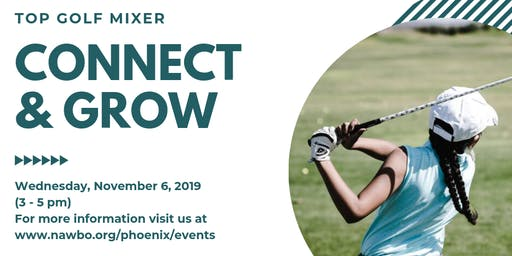 NAWBO Phoenix Top Golf Mixer Hosted by Bank of America