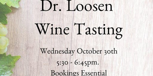 Dr. Loosen Wine Tasting