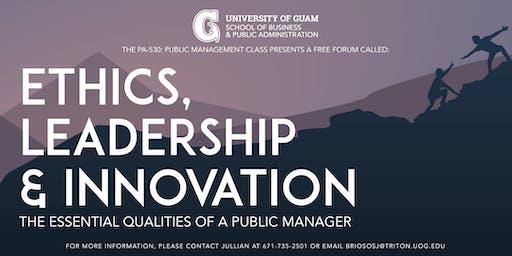 Ethics, Leadership & Innovation