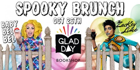 Spooky Drag Brunch at Glad Day tickets