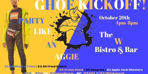 GHOE KICKOFF : Party Like An Aggie