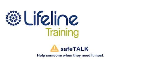 Lifeline SafeTalk Half-day Training Workshop Townsville tickets