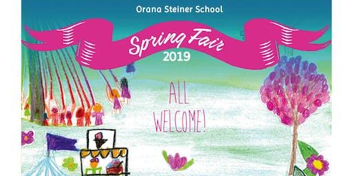 Orana Steiner School Spring Fair
