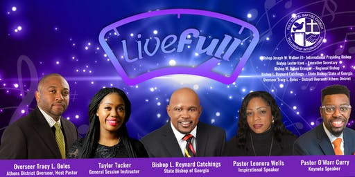 "2019 Athens District FGBCFI Conference ""Live Full"""