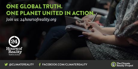Climate Crisis Conversation: 24 Hours of Reality tickets
