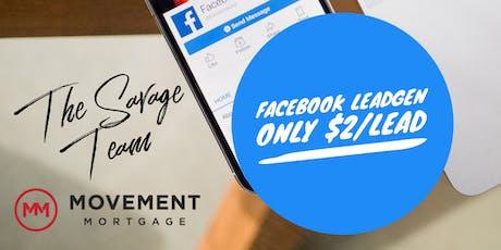 Workshop for Realtors:  Facebook Home Buyer Leads under $2 tickets