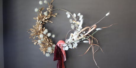 Dry Wreath Making for the Holidays  tickets