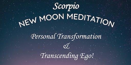 Scorpio New Moon Meditation | Personal Transformation & Transcending Ego!